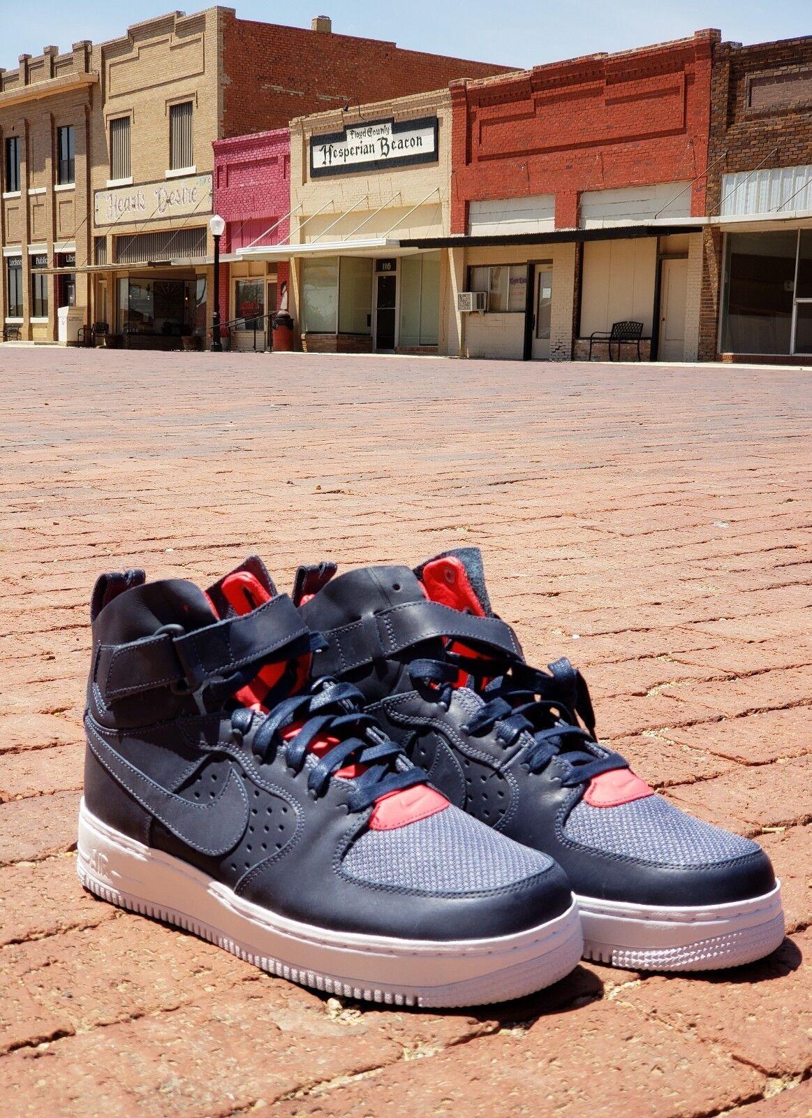 Nike Air Force Hi Trueno Hombre Azul 917494 400 Hombre Trueno cómodo especial de tiempo limitado fbbebf