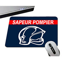 Tapis De Souris - Casque De Sapeur Pompier - Ordinateur
