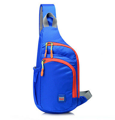 Unisex Nylon Travel men woman Sports Shoulder  Messenger Sling Day Chest Bag