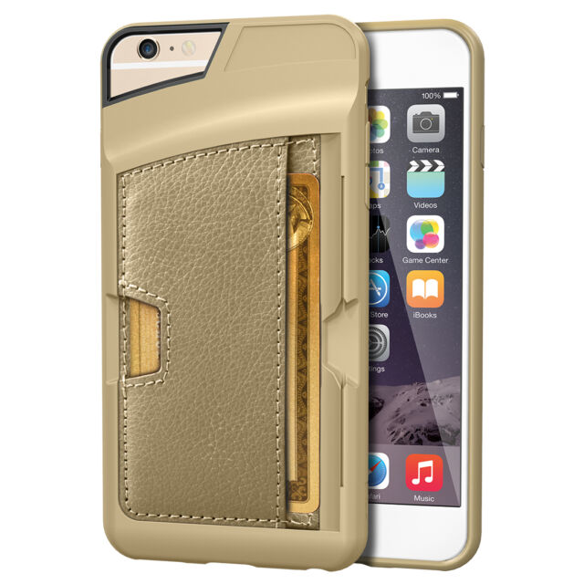on sale 839e1 a14e4 iPhone 6s Plus/6 Plus Wallet Case CM4 Slim Kickstand Credit Card Phone Cover