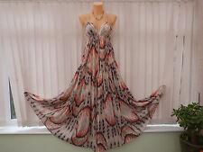 FAB!!! ALL SAINTS Summer cotton long dress sz 8 very rare!