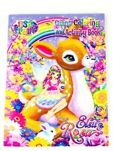 Lisa Frank Elsu & Rosa Giant Coloring and Activity Book for Kids ...