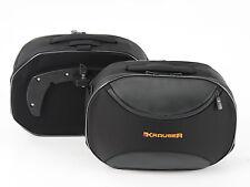 Aprilia Tuono 1000R panniers Krauser Softbag  Luggage inc full fitt kit 2009-