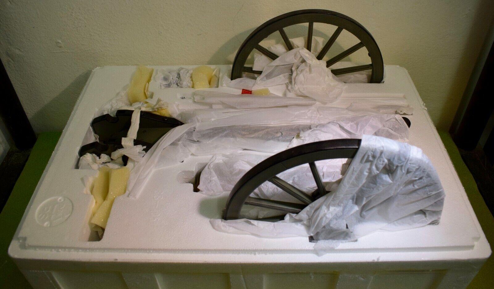 SIDESHOW 1 6 SCALE AMERICAN CIVIL WAR ERA CANNON - 1841 FIELD GUN