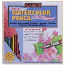 General Pencil Learn Watercolor Pencil Techniques Now! Kit - 421241