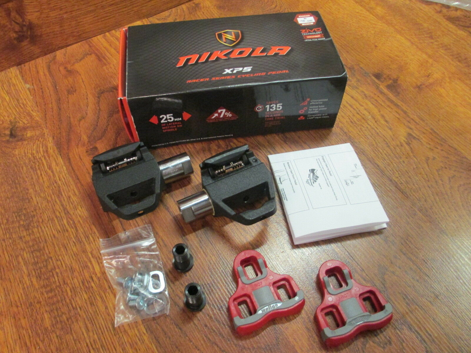 NIKOLA XPS ZIVO PEDALS AND CLEATS