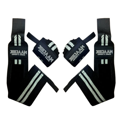 Wrist Wraps Pair Bandage Hand Support GYM Straps Grip Brace Weight Lifting
