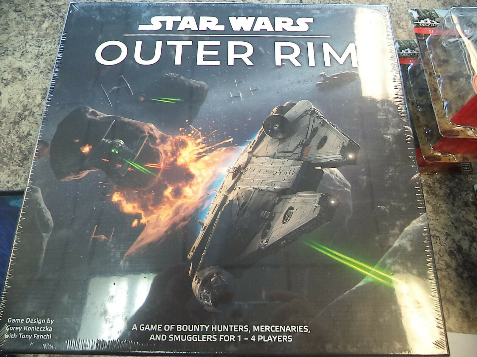 Star Wars  Outer Rim - FFG Games Board Game New