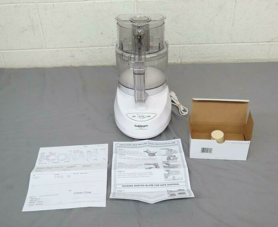 Cuisinart DLC-2007N 7-Cup Food Processor RECALLED BLADE REPLACED Fast Shipping