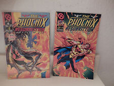 Lot of 2 two-sided The Phoenix Resurrection: Chapter One & Six