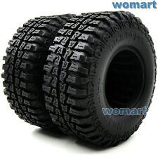 2pcs RC 4WD Dick Cepek 1.9'' Mud Country Tires Fit RC 1.9 Beadlock Rims wheels