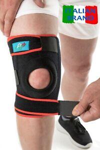 Ginocchiera Ortopedica FitFitaly - Tutore Ginocchio per Legamenti Rotula Menisco