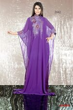Moroccan Dubai Style Islamic Arab Farasha Kaftan Caftan Maxi Dress Top Gown