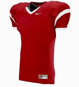 4f2168fce0405 Nike Football Jersey Men's Size Large L Red White Style 616519 $65 ...