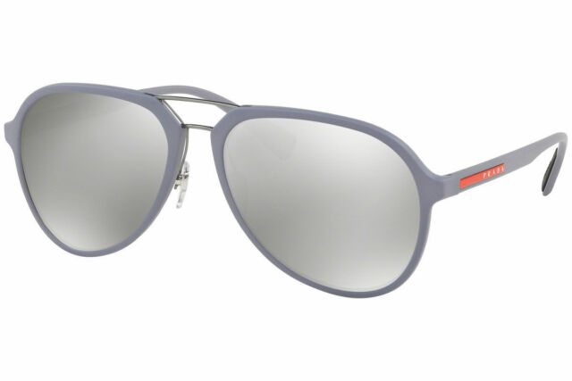 f38a180a554 PRADA Sunglasses Ps05rs K3e2b0 54mm Lavender Silver Aviator Genuine PS 05  RS. +.  142.49Brand New. Free Shipping