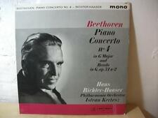 33CX BEETHOVEN Piano Concerto 4 HANS RICHTER-HAASER KERTESZ COLUMBIA MONO LP