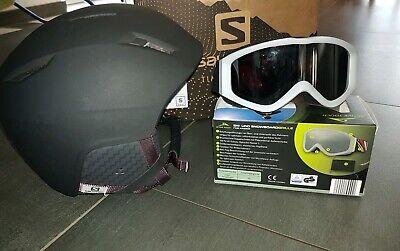 Salomon Ski,Snowboardhelm,Größe SM, 55 58, neuwertig, 3Tage getragen +Skibrille | eBay