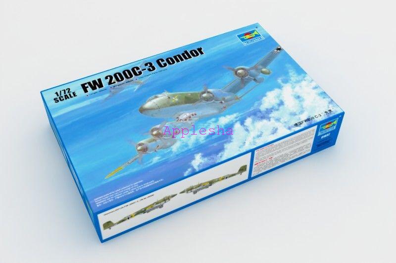 Trumpeter 01637 1 72 Fw200 C-3 Condor