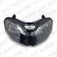 Kawasaki Headlight Assembly Ninja Zx6r Zx9r Zx600 Zzr600 Zx900 2000-2003
