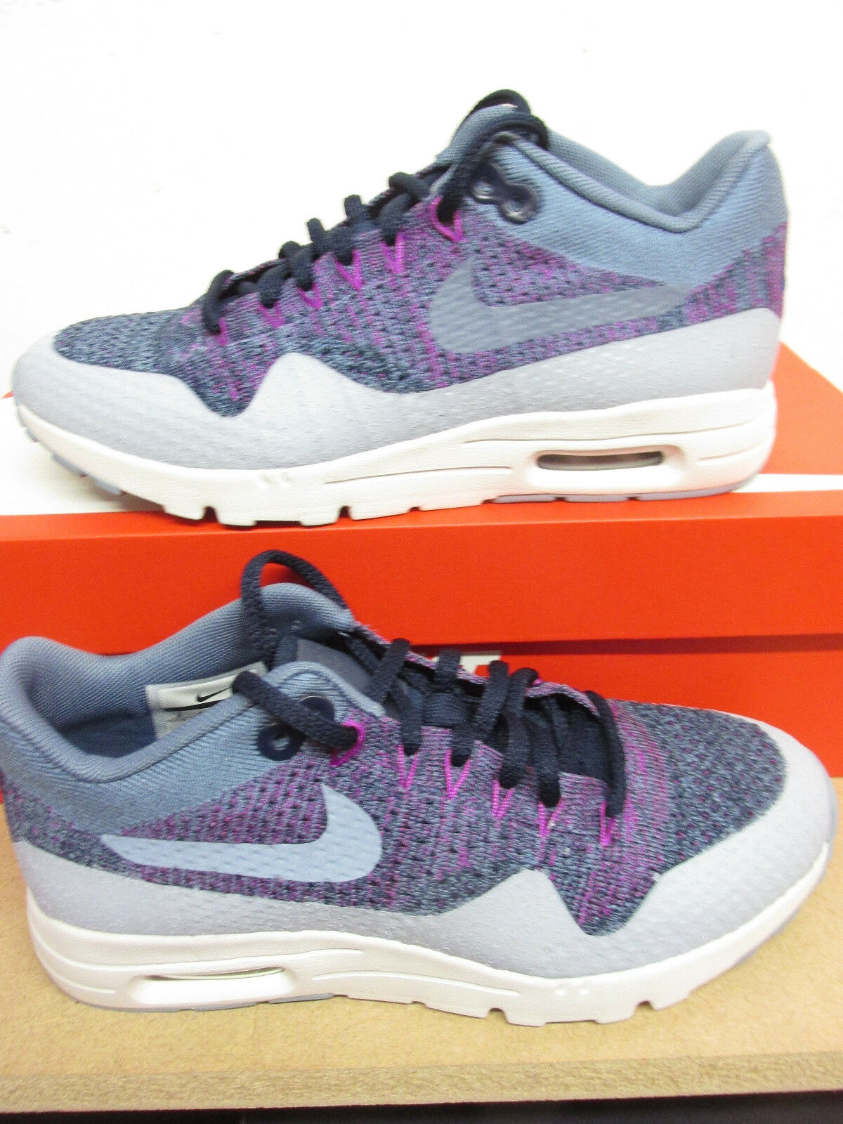 Nike Femmes Air Max 1 Ultra Flyknit Basket Course 859517 400 Baskets