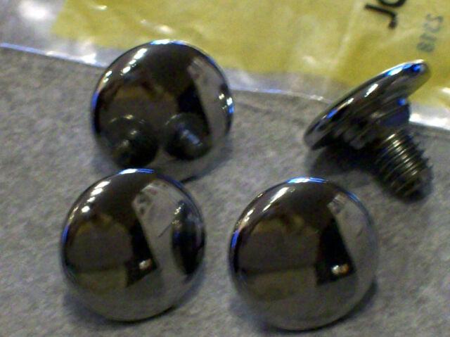 John Deere 110 112 120 140 chrome hood bolts NIP M44395