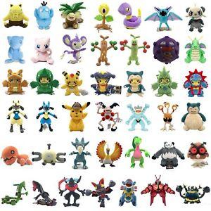 Pokemon-Detective-Pikachu-Psyduck-Greninja-Mew-Snorlax-Aipom-Plush-Toy-Optional