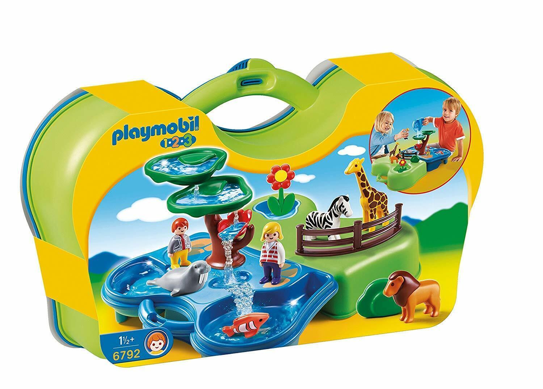 Playmobil 6792 1.2.3 prendre  le long de Zoo et aquarium-MultiCouleure NEUF  expédition rapide à vous