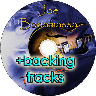 JOE BONAMASSA BASS /& GUITAR TAB CD TABLATURE BACKING TRACKS BLUES MUSIC