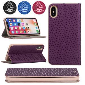 Gorilla-Tech-Ultra-Slim-Floral-Pattern-Book-Case-for-Apple-iPhone-Samsung-Galaxy