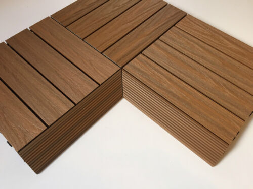 No Staining Wood Composite Decking Tiles Easy Clean DIY Easy Lay