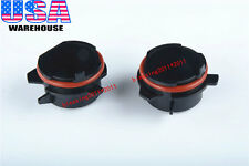 2PCS HID Xenon Bulb Holders Adapters For BMW 5 Series E39 with H7 2001 2002 2003