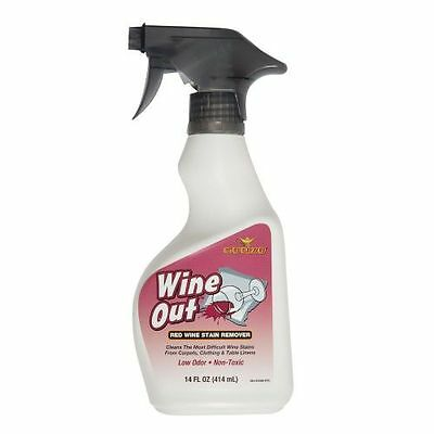 Gonzo WINE OUT SPRAY Red Wine Stain Remover 414ml/14oz Works Like Magic 3331-1