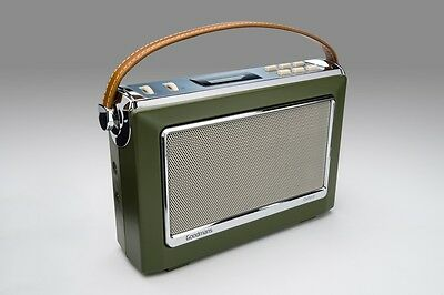 Goodmans 1960's Vintage Style Digital & FM Radio in Green DAB+ OXFORDGRN