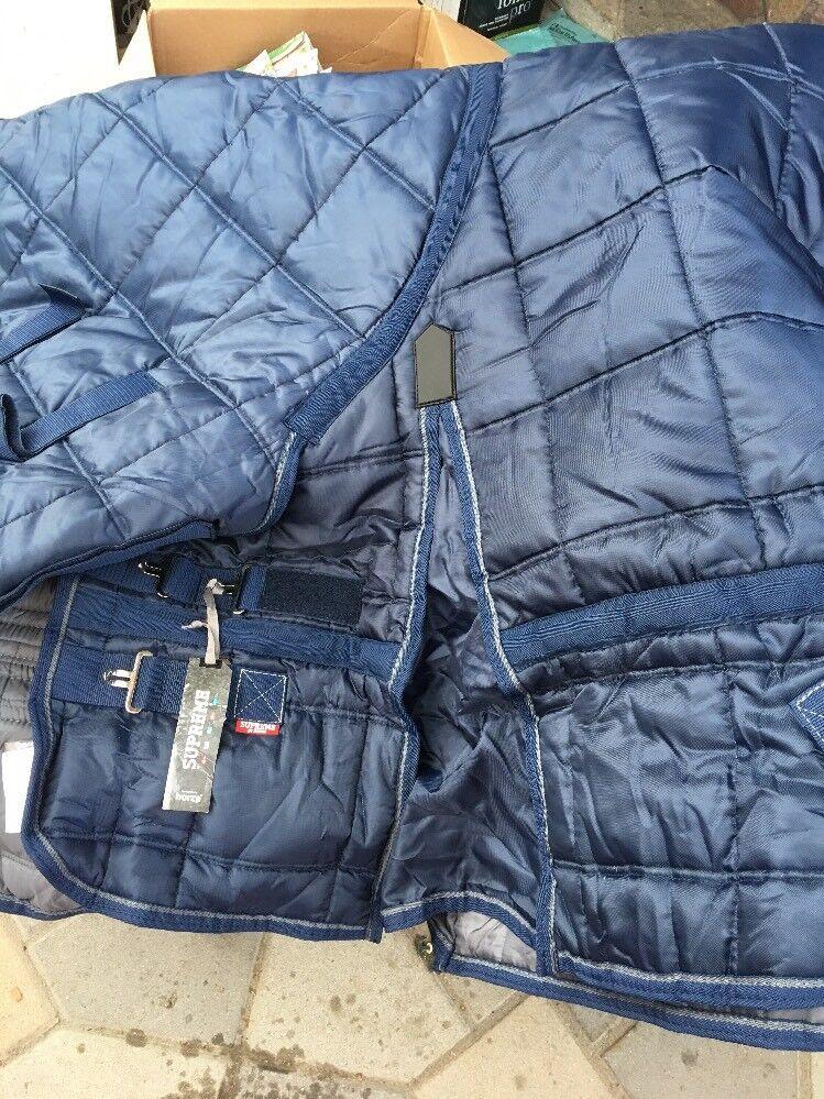 Horze Supreme Avalanche Pro Stable Rug Blanket 75 im Kombibereich 65533;double65533; Dark Blau