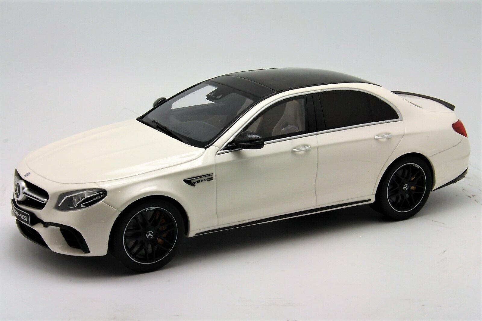 1  18 GT anda Mercedes E63 S AMG Dealer Edition vit fri Shipping   MR BBR