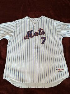 Details about AUTHENTIC SIZE 60 4XL NEW YORK METS HOME JOSE REYES JERSEY