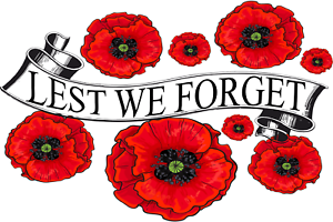 Lest We Forget Red Poppy Day November 11 Remembrance Armistice Day Sticker