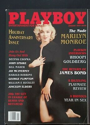 MARILYN MONROE NUDE ON COVER BACK ISSUE PLAYBOY MAGAZINE