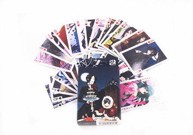 Anime Black Butler Kuroshitsuji Playing Card Deck Poker Toy New In Box
