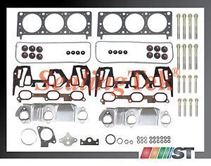 Fit 1999 GM 3400 3.4L 207 V6 VIN E Engine Full Gasket Set w// Bolts Kit cylinder