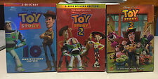 Toy Story Trilogy DVD Set 1 2 3 Movies+Slipcover New Sealed As Shown in Picture!