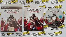 ASSASSIN'S CREED II 2 PS3 PLAYSTATION 3 ITALIANO VIVI SECONDO IL CREDO