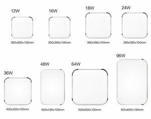 12-96W-LED-Dimmbar-Deckenleuchte-Kuechenleuchte-Ultraslim-Badlampe-Luester-EEK-A