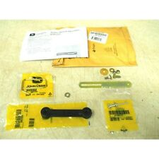 John Deere 38 bagger chute metal and rubber strap kit AM103541 M67099 M67100