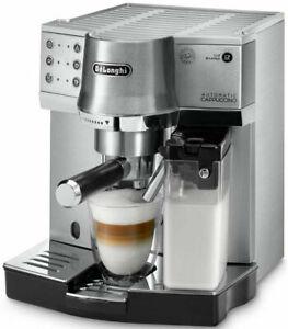 Details About Delonghi Ec860m Pump Espresso Manual Coffee Machine Silver Ec 860m