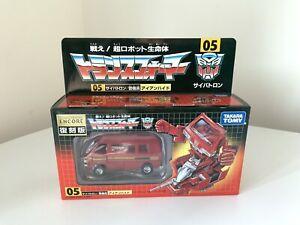 Transformers-G1-IRONHIDE-AUTOBOT-TAKARA-Encore-tfe-Edicao-05-Novo-Lacrado-Raro