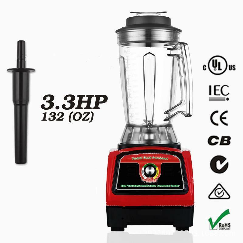 3.3HP 2800 W commercial Home Food centrifugeuse Haute Vitesse Mélangeur Power Fruit Blender