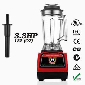 BPA Free 3.3HP 2800W Heavy Duty Commercial Blender Mixer Juicer Processor