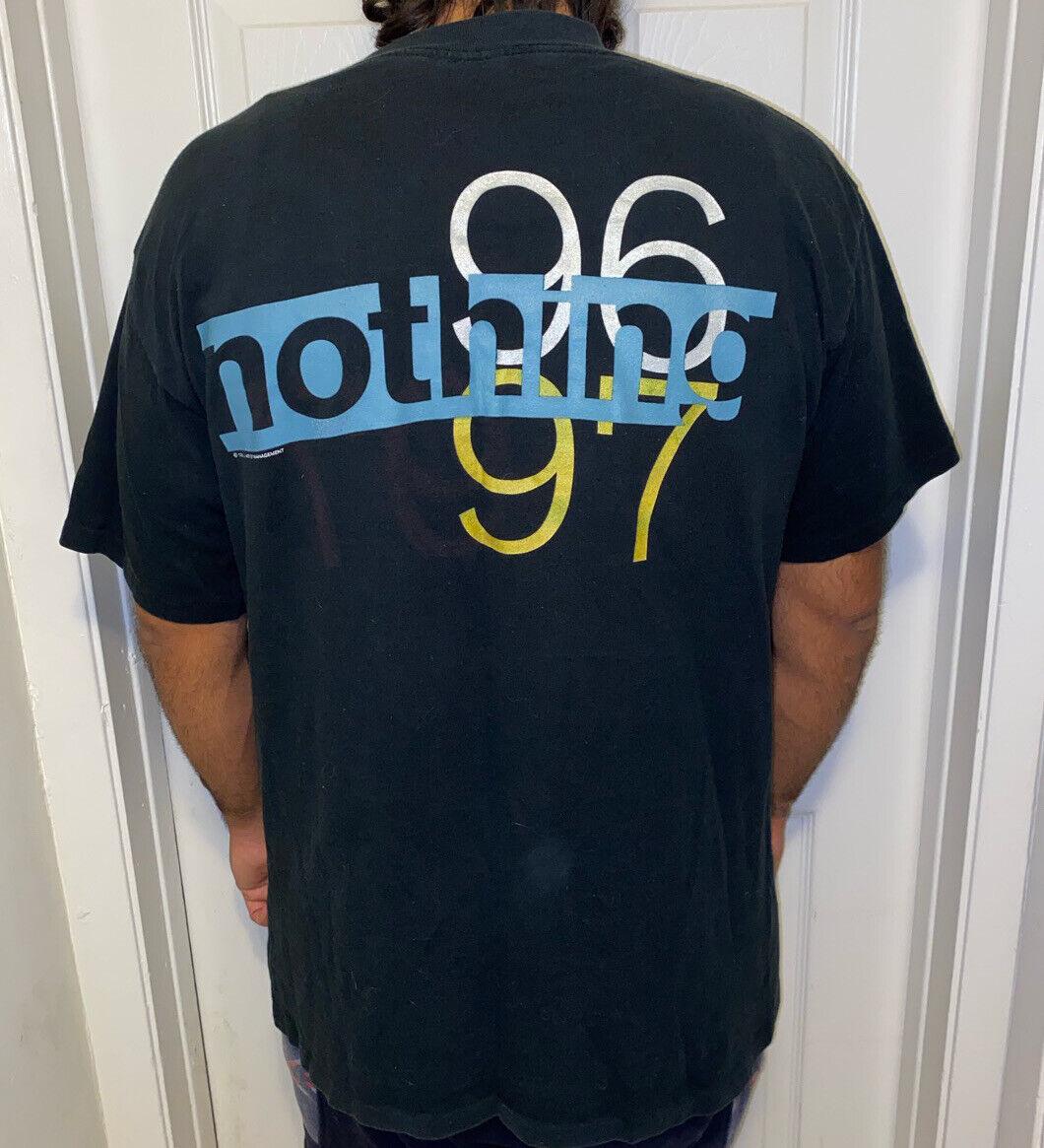 Nine Inch Nails Vintage T Shirt 90's 1996 Concert… - image 2