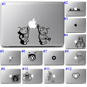 Apple Macbook Pro Air 13 15 Sticker Decal Cool Anime Cute